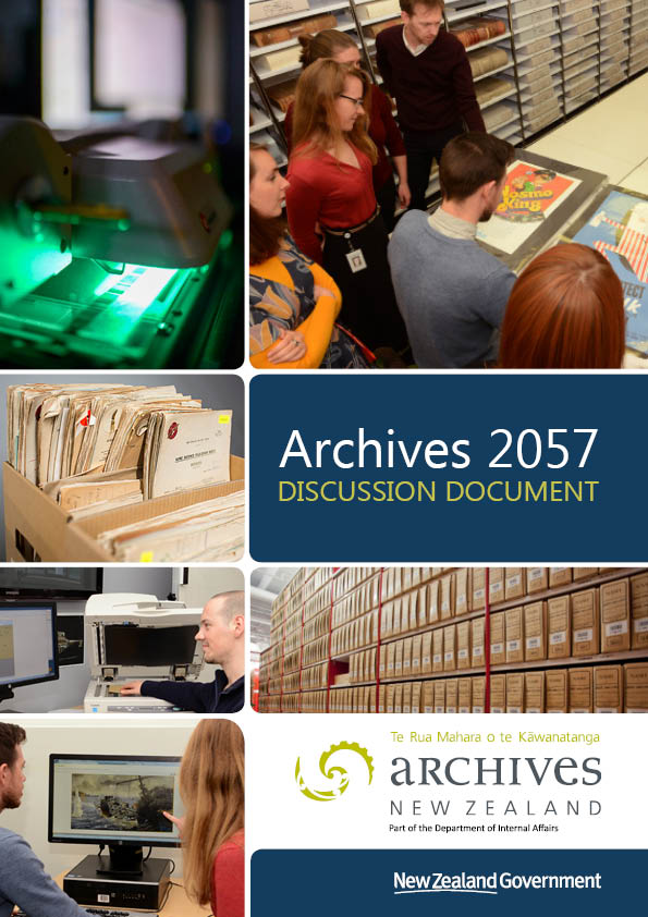 Archives 2057 Discussion Document Cover