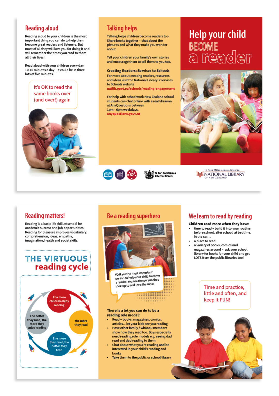 Read aloud brochure (National Library)